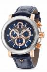 Aigner Uhr Bari Chronograph, blau, A37522
