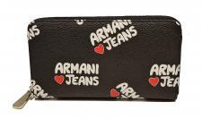 Armani Jeans Geldbörse Russia, Nero