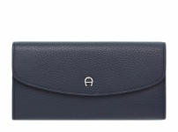 Aigner Portemonnaie groß, 156582 dunkelblau