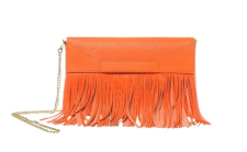 Boutique Moschino Schultertasche / Clutch, Orange