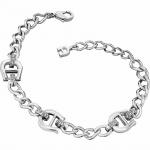 Aigner Armband mit Kristallen, silber, A67067