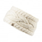 Roeckl Stirnband Graphic Cable, woolwhite