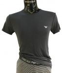 Emporio Armani Herren Pyjama/Schlafanzug, Blau 111426 Größe S
