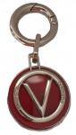 Valentino Taschenanhänger / Schlüsselanhänger, rot/gold