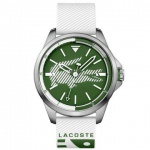 Lacoste Herren Uhr Capbreton Silikon weiß, 2010965