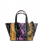 Coach Handtasche Mini Crosby Carryall Exotic, wildflower multi