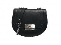 Valentino Umhängetasche Lady Leather Bag Girello, Nero