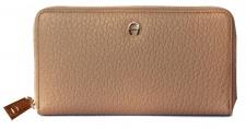 Aigner Portemonnaie groß mit Zip, Sefora 156590 hazelnut beige
