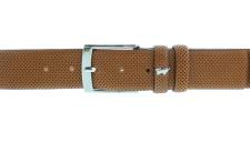 Braun Büffel Gürtel / 115 cm, kürzbar, cognac 71041