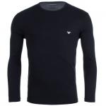 Emporio Armani Langarm T-Shirt marine, 111653-XL