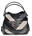 Coach Shoulder Bag Edie 31, Schwarz 38672