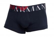 Emporio Armani Herren Boxershorts Trunk, Dunkelblau 111389
