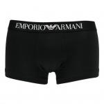 Emporio Armani, Herren Basic Stretch Cotton Trunk CC 518 schwarz Gr. XL