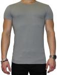 Emporio Armani, Crew Neck T-Shirt grau 111035 6A717 Größe M