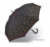 Happy Rain Stockschirm , schwarz-gepunktet (Variante 1)