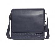 Coach Messengerbag, Signature, Blau 32223