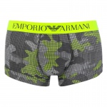Emporio Armani Basic Stretch Cotton Trunk gemustert, 111389
