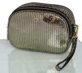 Aigner Fashion Clutch / Kosmetikbeutel S, Metallic Gold 163063