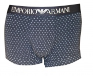 Emporio Armani Basic Stretch Cotton Trunk, marine