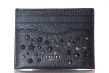 Coach Kreditkartenetui/ Flat Card Case, Metallic Blue, 59453