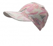 Norton Cap Schildmütze grau mit rosa, 2217