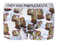Emporio Armani Trunk Seemannsprint, bianco stampato
