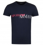 Emporio Armani Herren T-Shirt, Dunkelbau 111035