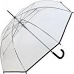 Happy Rain Stockschirm transparent, 40970