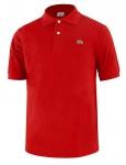 Lacoste Herrenpolo Classic Fit L.12.12, rouge Größe 7