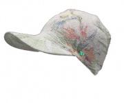 Norton Cap / Schildmütze grau mit grün, 2219
