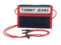 Tommy Hilfiger Brusttasche Logo Tape Crossover, dunkelblau