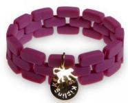 Kipling Silikon-Armband, plum wine