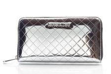 Armani Jeans Portemonnaie groß mit Zip, 928032, Argento