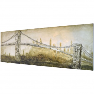 3D Bild Brooklyn Bridge Wandbild 160 x 55 cm