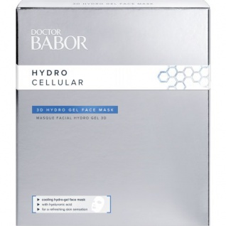 DOCTOR BABOR HYDRO CELLULAR 3D HYDRO GEL FACE MASK 4X2STK