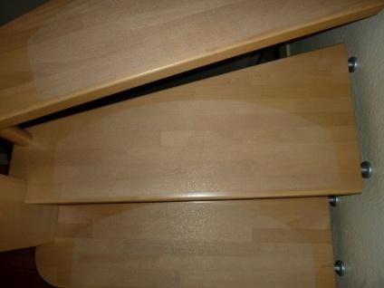 Rutsch Schutz Matte fast unsichtbar gummiert selbsklebend für Treppen rund