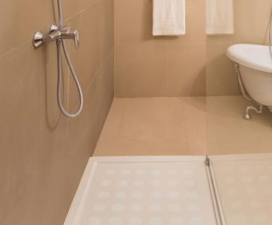 Anti-Rutsch Dusche Aufkleber transparent eckig rutschschutz Duschmatte Badematte