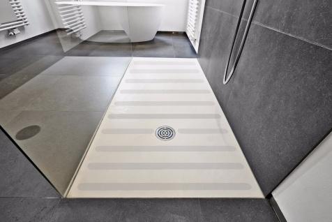 2, 5 cm breite Anti Rutsch Streifen +fein transp.+Dusche Wanne Antirutschmatte