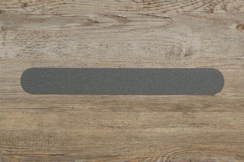 5 cm Holz Treppen Anti Rutsch Streifen +gummiert hell-mittel grau+ verschiedene