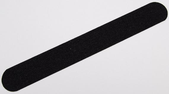 Anti Rutsch Schutz Streifen 3 cm + gummiert anthrazit schwarz + Treppe Stufen
