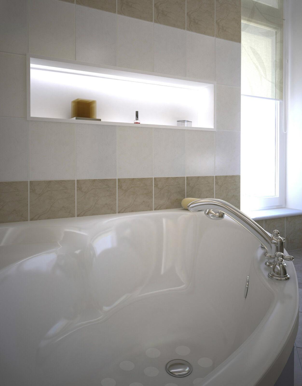 Anti rutsch fliesen folie boden dusche wanne for Fliesen folie holzoptik