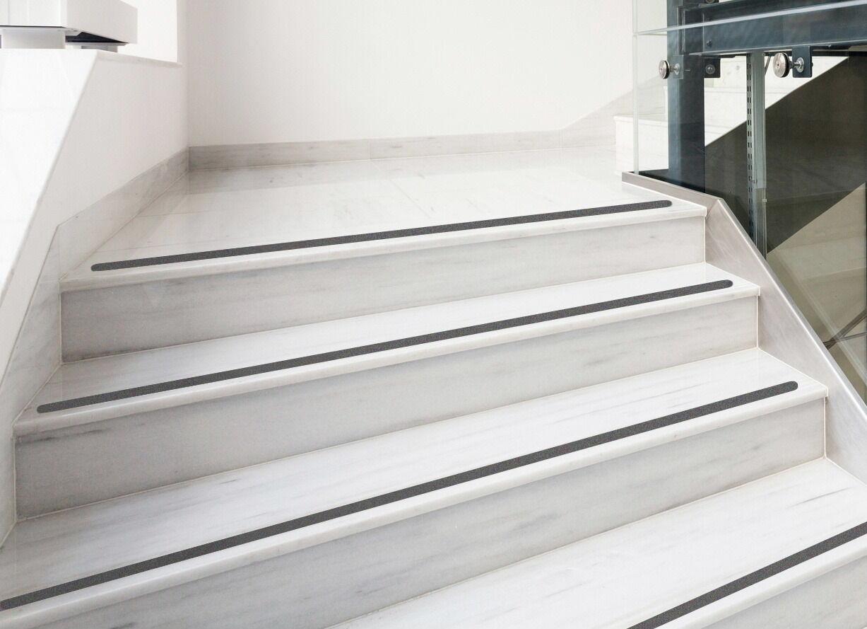 anti rutsch streifen 3cm gummiert anthrazit schwarz treppe stufen matte kaufen bei kay rang. Black Bedroom Furniture Sets. Home Design Ideas