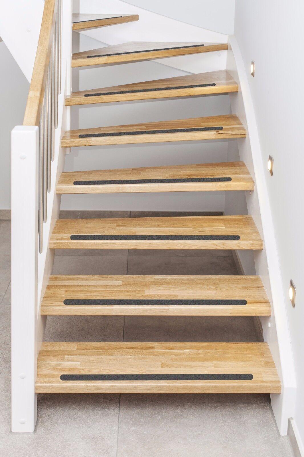 5 cm holz treppen anti rutsch streifen gummiert anthrazit schwarz verschiedene kaufen bei. Black Bedroom Furniture Sets. Home Design Ideas