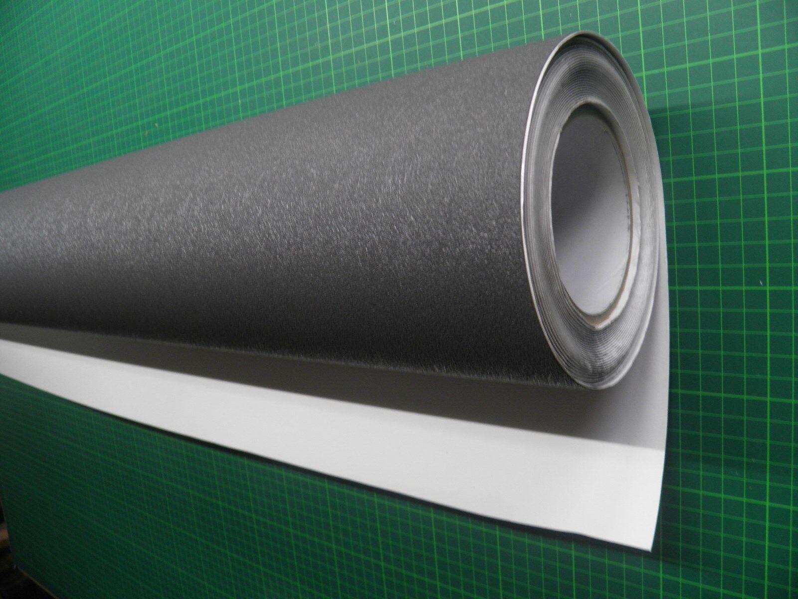 120 cm x  50 cm ca PVC Anti Rutsch Schutz Folie dunkel grau selbstklebend