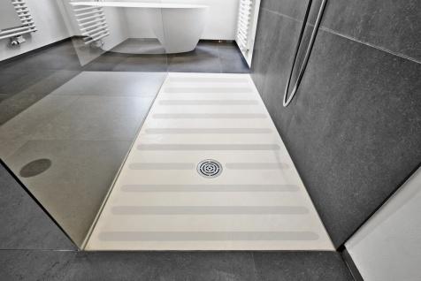Anti Rutsch Streifen 3 cm + fein gekörnt + für Ihr Badezimmer Dusche Badewanne