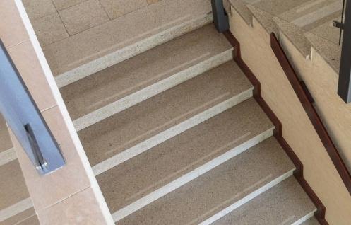 Antirutschstr. 3 cm Treppe + fein transp.+ Rutschschutz Stufenmatte Teppichmatte