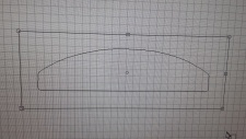 selbstklebende AntiRutschMatte für Treppen 600 x 150 mittig 65 mm gummiert trans