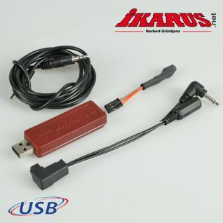 USB-Interface für aeroflyRC7 und Spektrum- u. Futaba-Sender