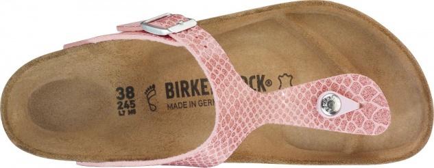 Birkenstock Gizeh Magic snake Birko-Flor Pantolette Lack Damen Pantolette Birko-Flor 8514b2