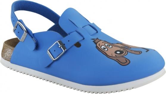 Birkenstock KAY SL dog blue Birko-Flor